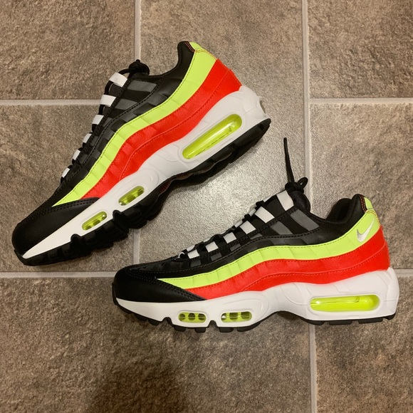 "on sale 43f2d 6fb80 Nike Air Max 95 ""Neon Red"" Women's Lifestyle Shoes"